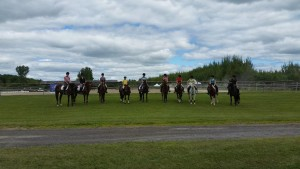 The Oakhurst Show Team at Harmony HT.