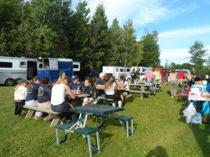 The Oakhurst Show Team dinner - Saturday night at Harmony HT.