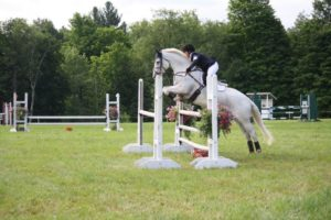 Alexa Bresnahan & Aragon - Completing their first Preliminary Horse Trials together at Tandalee HT on July 17th!