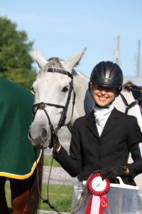 Deon Svoboda & Abbigael celebrate their win in the Preliminary (Non-Champs) division!