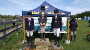 The Entry Junior Champions at the OHTA Championships at Oakhurst.