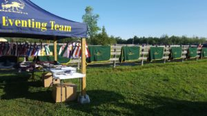 The prize table and mile of OHTA Champion coolers at the OHTA Championships at Oakhurst.